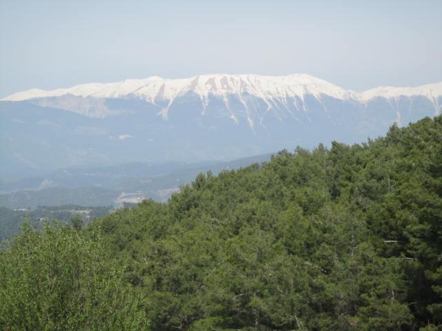 Mountains on the way to Arykanda