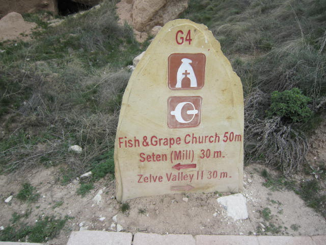 Sign post showing us where to visit