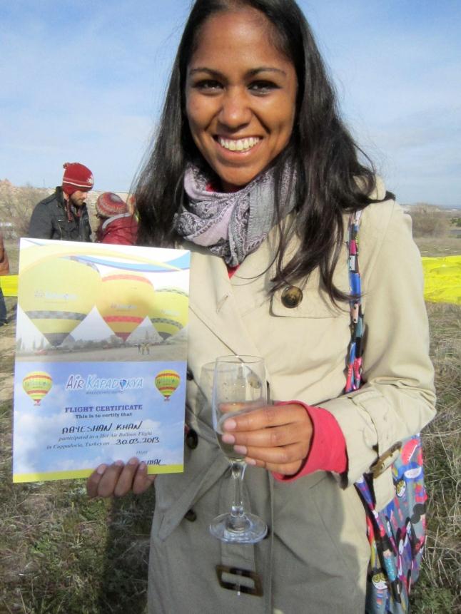 I'm a certified Balloon Traveler!