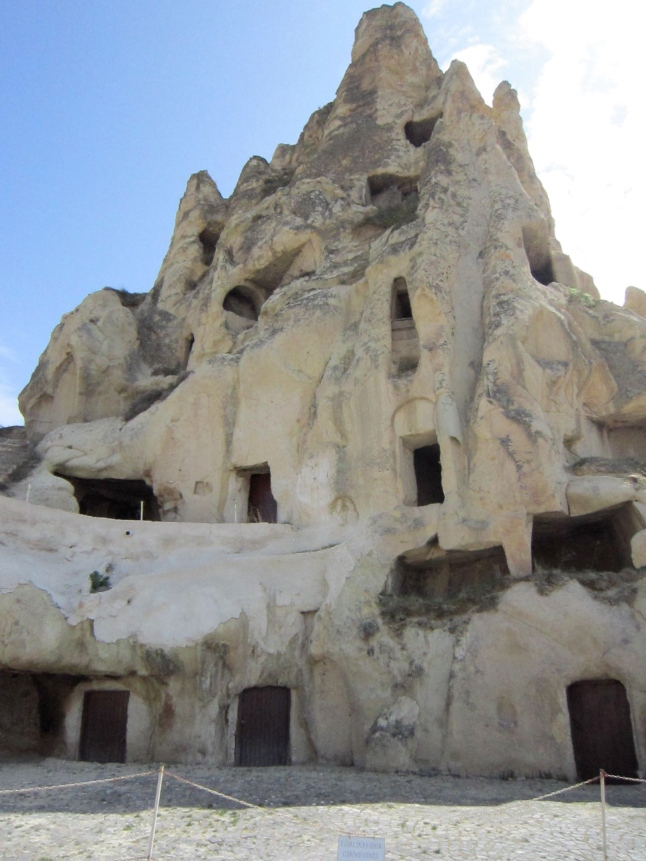 More cave dwellings, that we cannot climb into