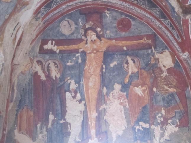 Sexy Jesus fresco