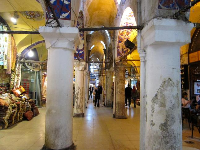 The old portion of the Grand Bazaar