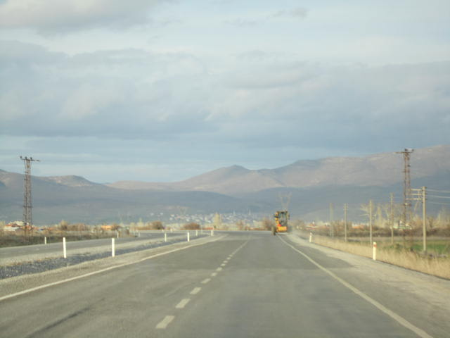 On the way to Cappadocia