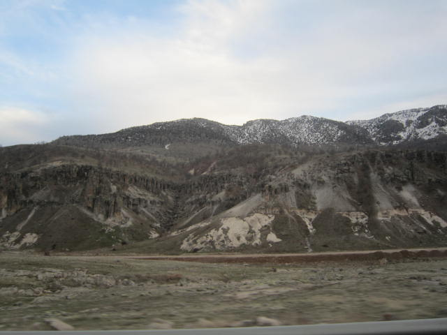 Changing scenery on our way to Aksaray