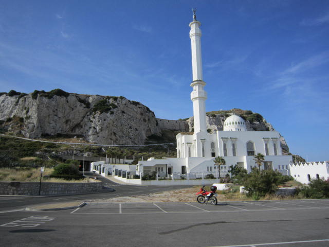 Mosque at the end