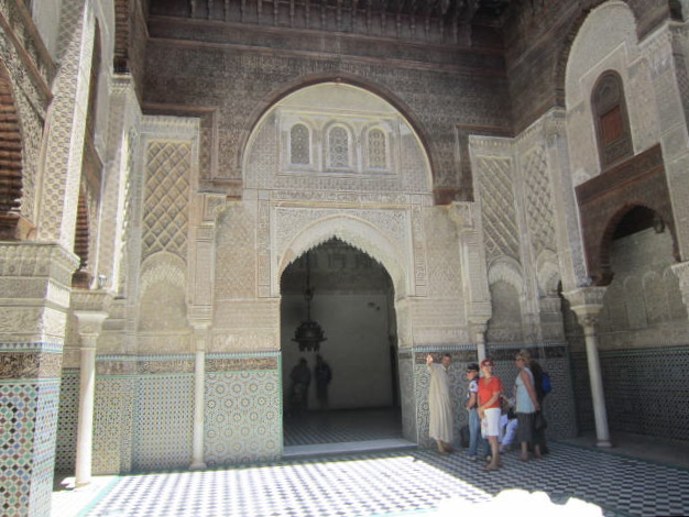 Mosque we could enter