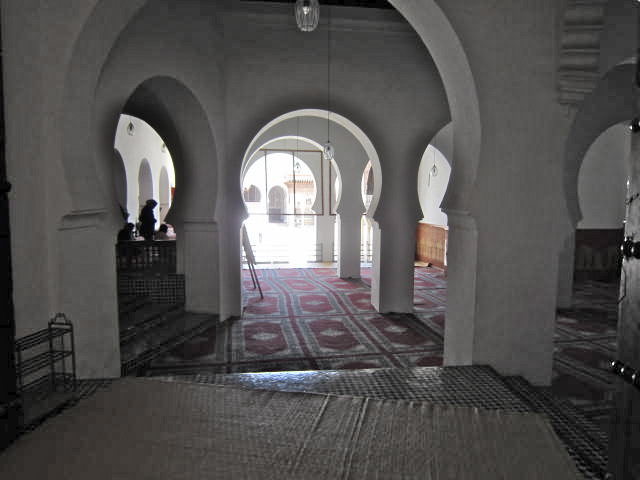 The women's section of the Mosque