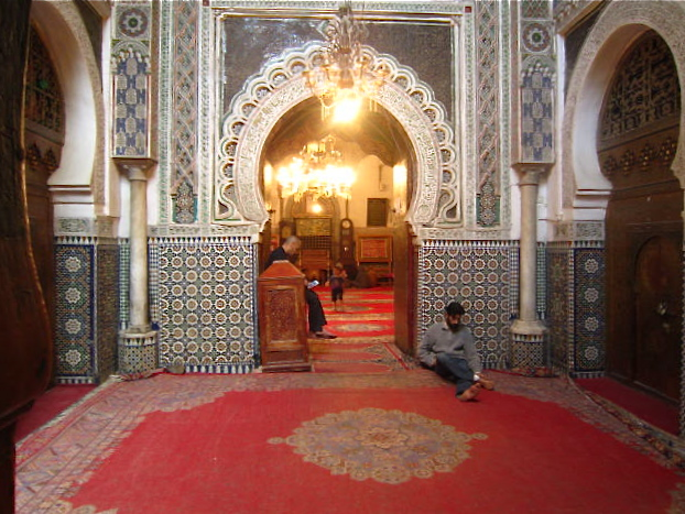 Another Mosque, more ornate, that we could not eventer