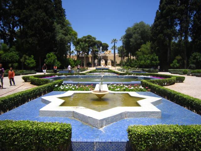 Beautiful Garden in Fez
