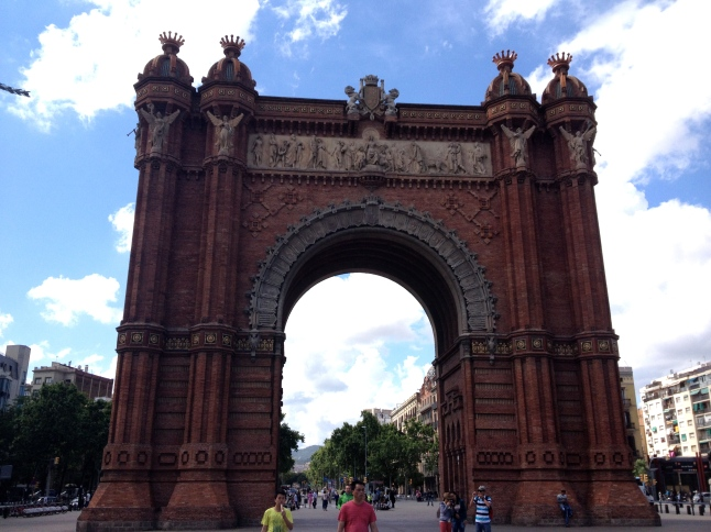 Arc de Triomf - the beginning and end of many a long distance race