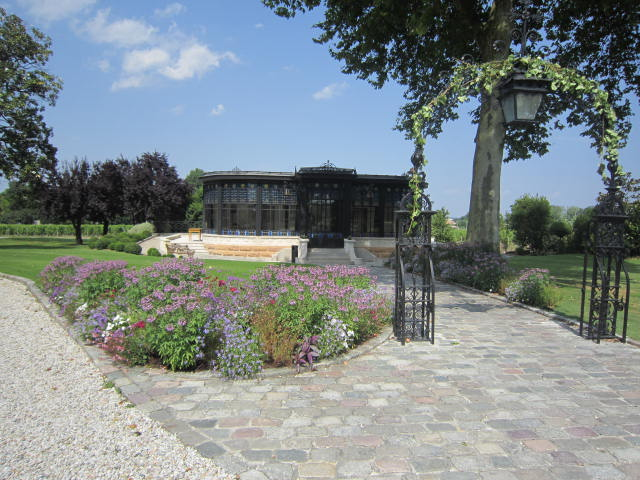 Gardens of the château