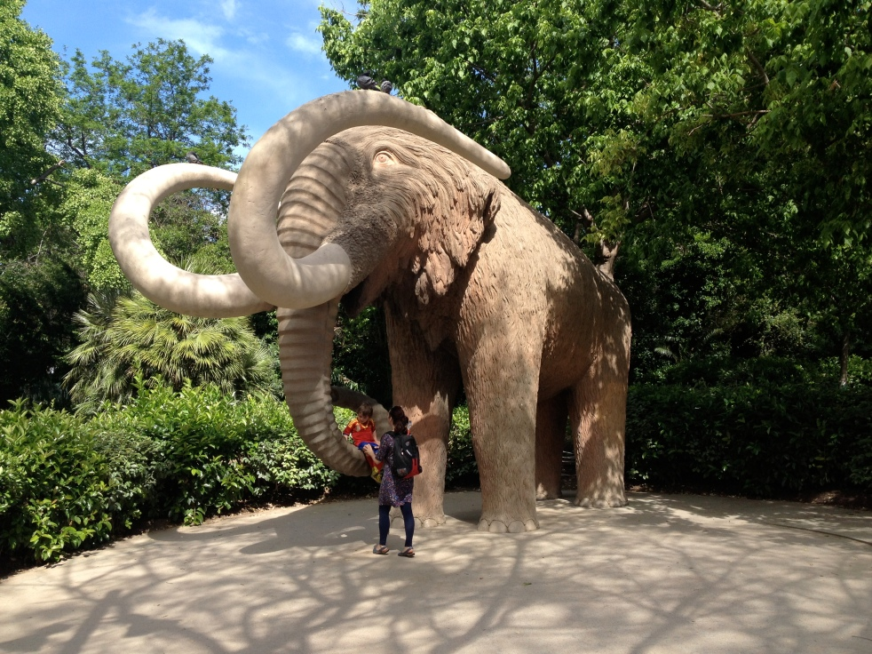 Wooly Mammoth Statue