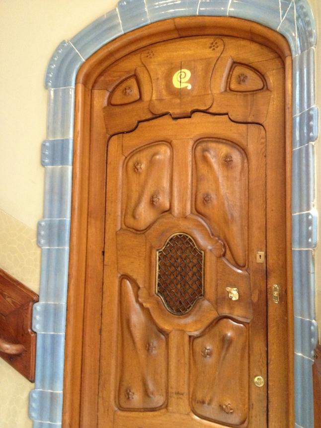 Very intricate door