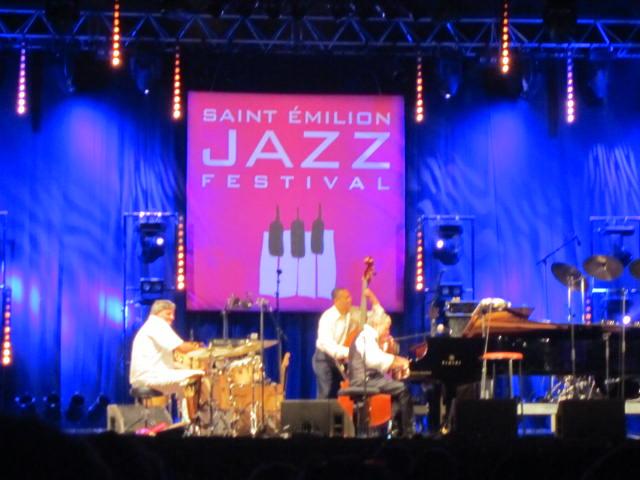 Monty Alexander at the Saint Émilion Jazz Festival