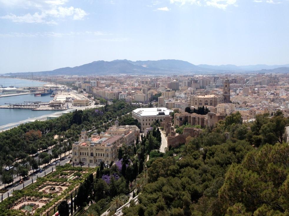 View from atop Palacio de la Aduana