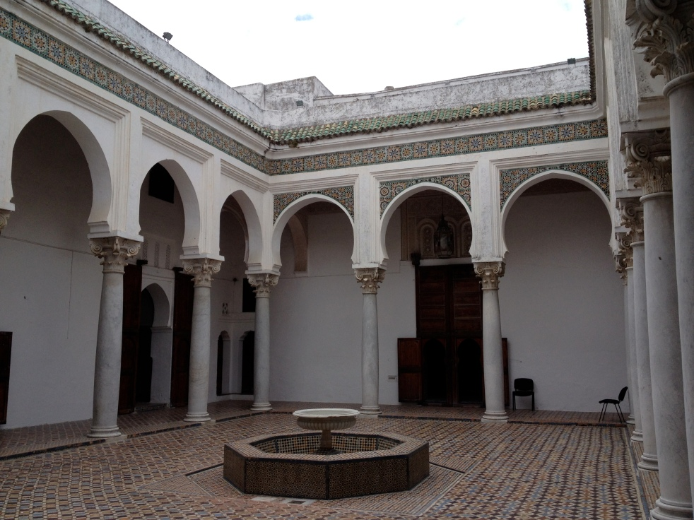 Inner courtyard of Kashbah Museum