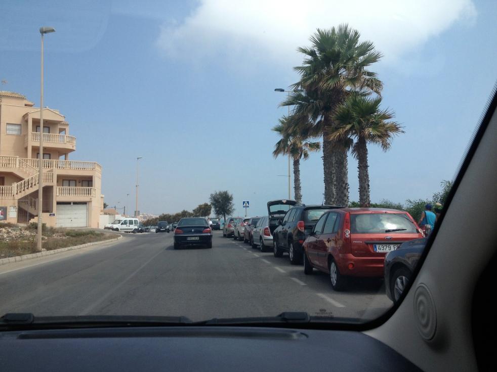Driving around Torrevieja