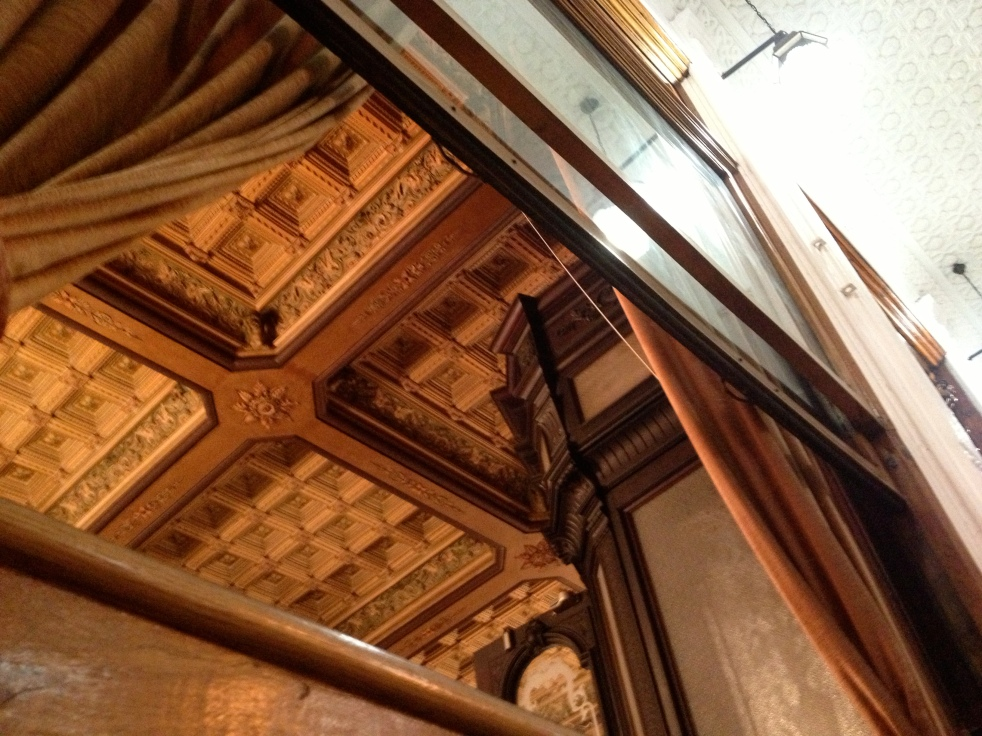 Gorgeous ceiling at the worst restaurant ever