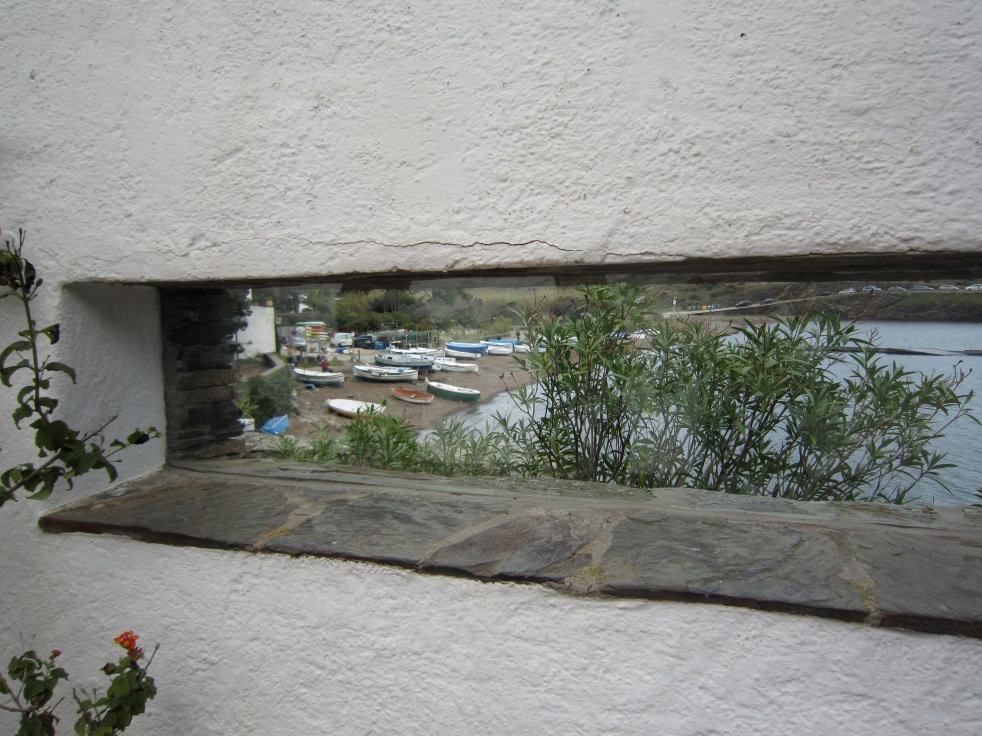 Great window for a picturesque view of the harbor
