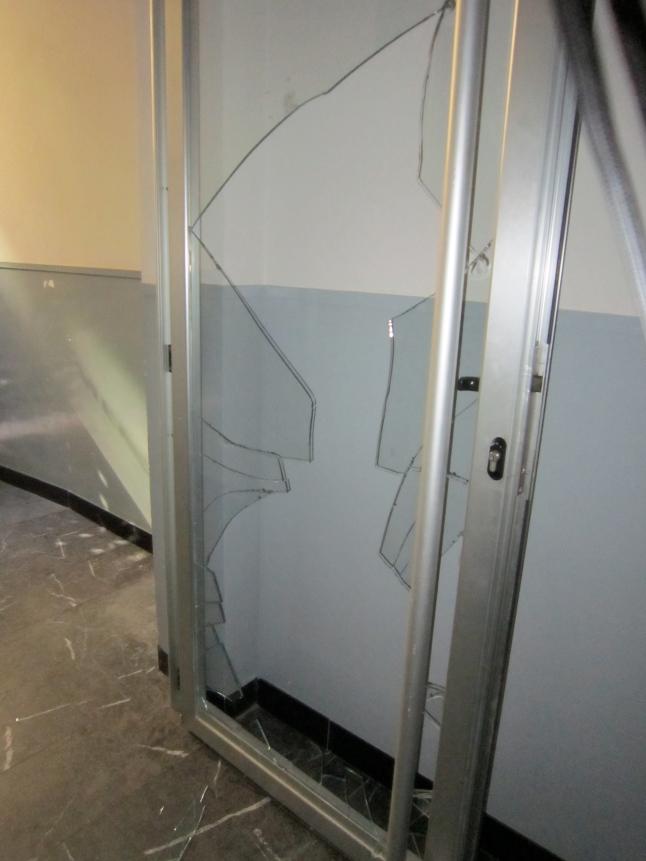 The Glass Door Incident