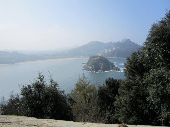 Climbing up Monte Igueldo