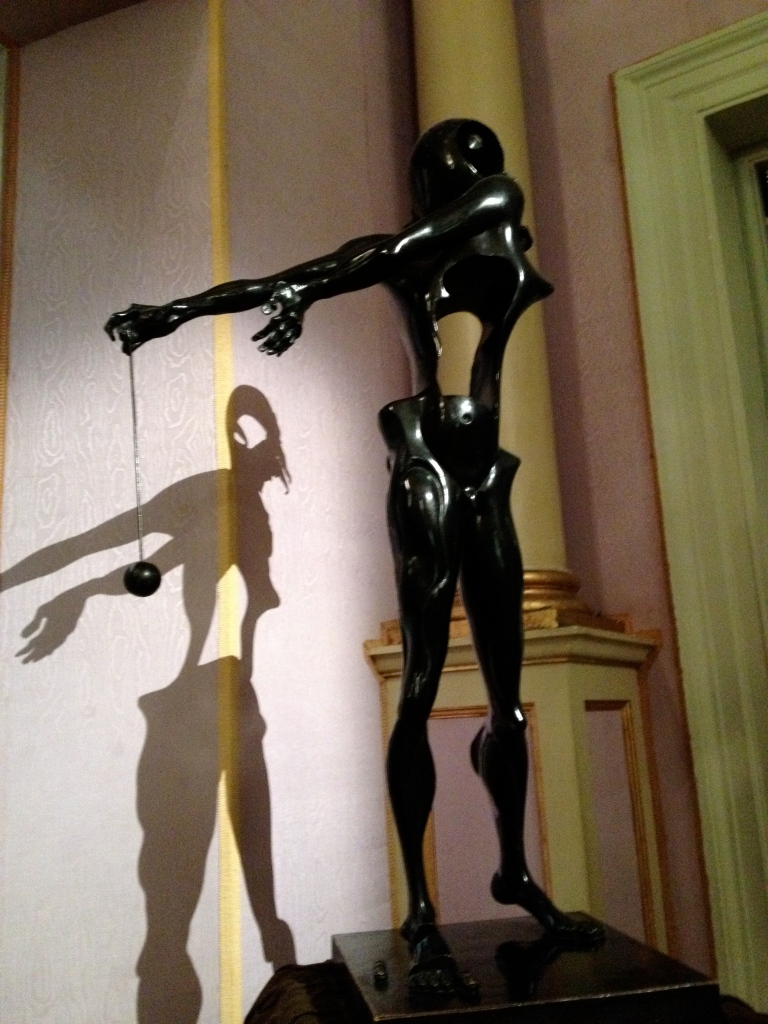 Hollow female statue could also point to impotence