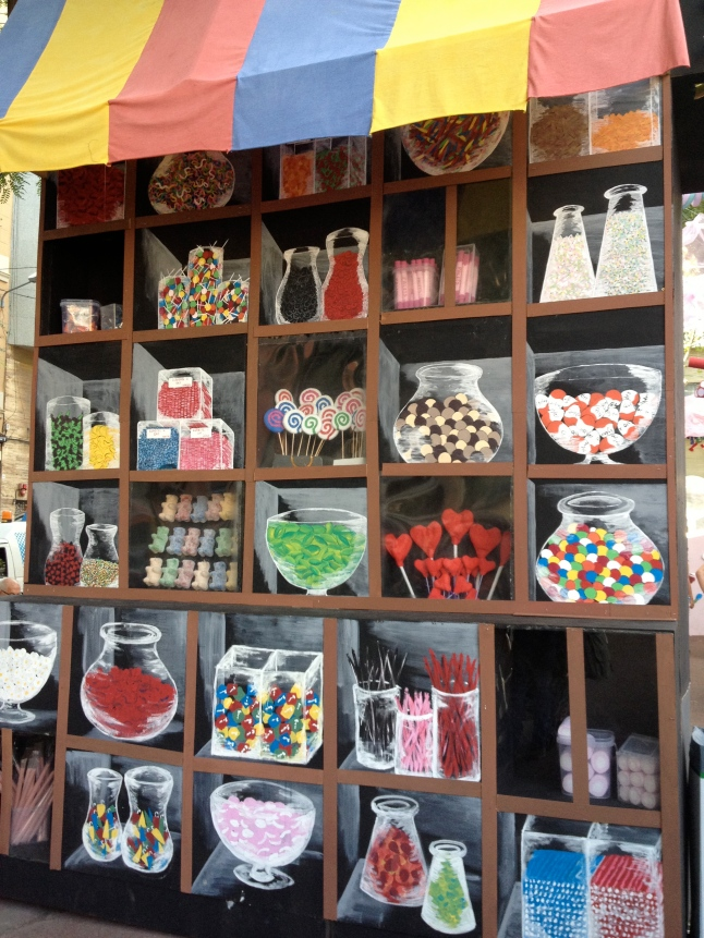 More of the candy shop