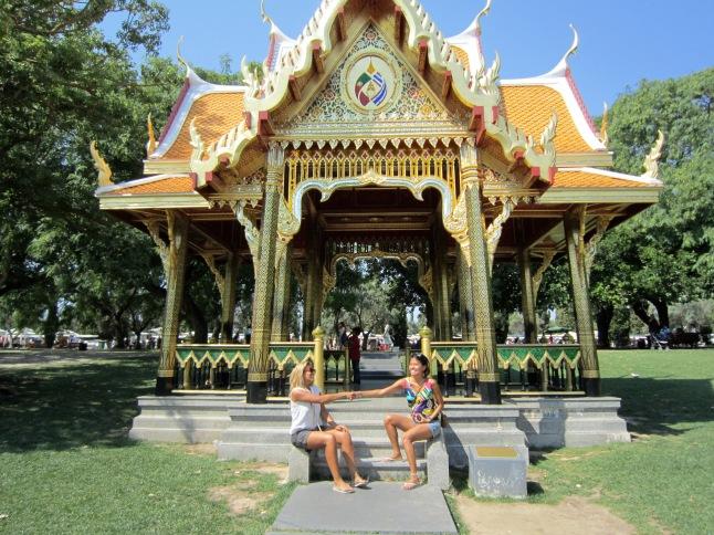 Thai and Portuguese friendship
