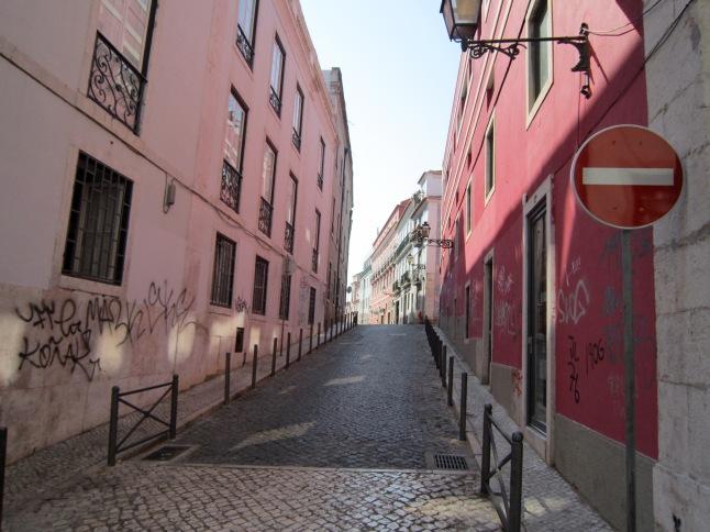 pink street!