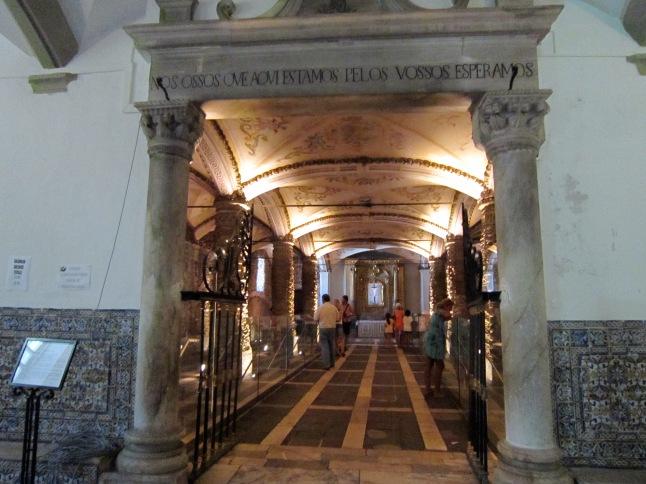 Entrance to the Bone Church