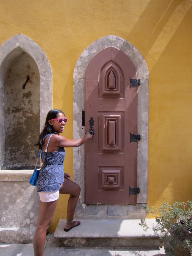 Doorway to nowhere