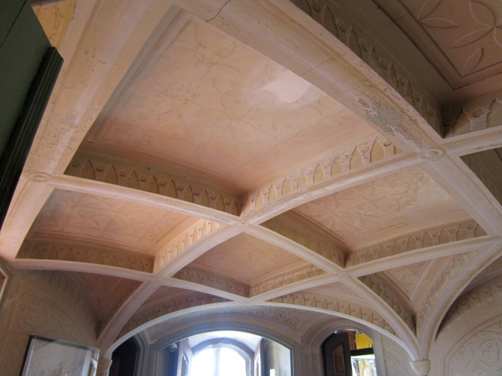 Beautiful vaulted ceilings throughout