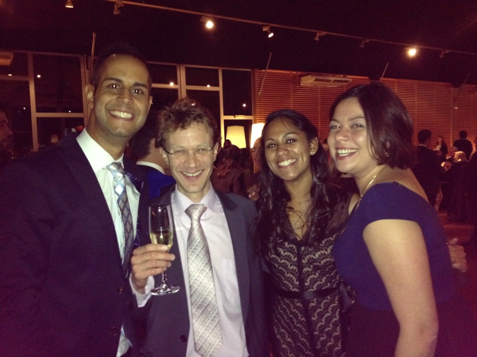 This man was the most important factor in our decision to come to ESADE, Jeroen, we won't forget you